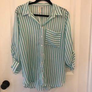 Grand & Greene Oversized Striped Shirt